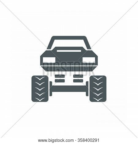 Off Road Truck Vector Icon Design Of Off-road Vehicle.