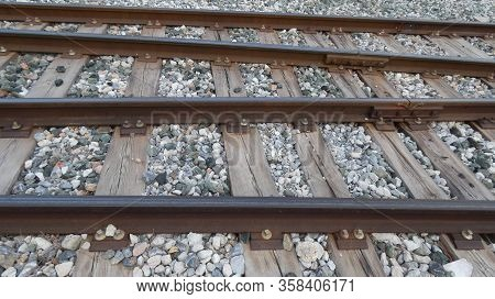 Railway Tracks Near Alora Station, Andalusa Spain