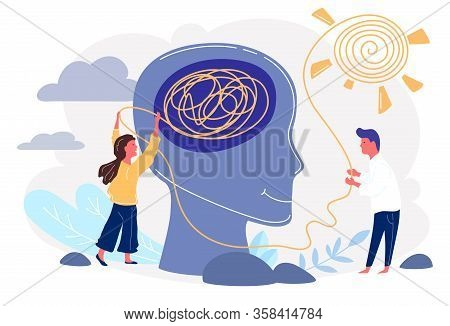 Psychotherapy Practice. Woman Psychologist Bconsulting Patient. Siety Psychiatry Concept