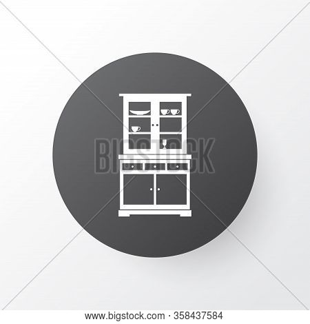 Buffet Icon Symbol. Premium Quality Isolated Cup Shelf Element In Trendy Style.