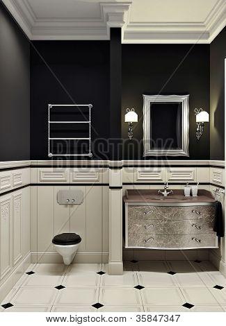 Black Bathroom