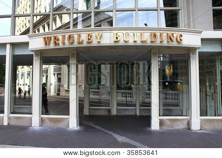 Chicago - Wrigley Building Entrance