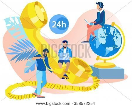 Bright Flyer Technology Global Telemarketing. Development Working Skills And Readiness For Any Situa