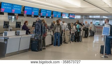 Phoenix,Az/USA - 2.12.20  Delta Airlines announced that the company will provide free airfare to any medical volunteer traveling to help significantly impacted areas with coronavirus relief.