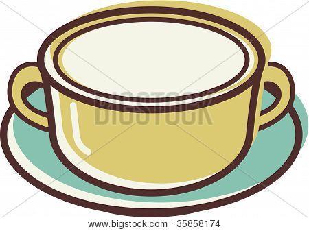 Illustration Of A Bowl