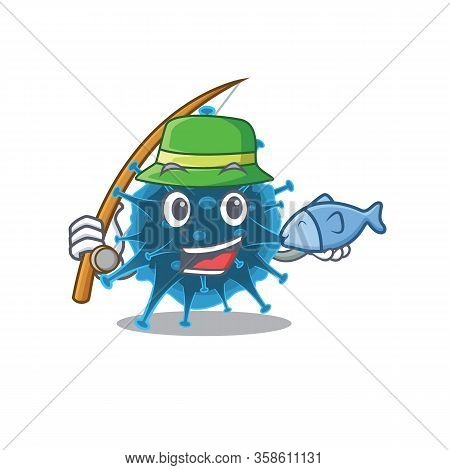 A Picture Of Funny Fishing Moordecovirus Design