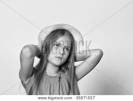 Girl's portrait.