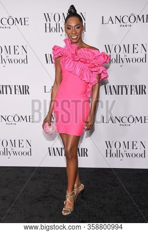 LOS ANGELES - FEB 06:  Angelica Ross Angelica Ross arrives for 'The Way Back' World Premiere on February 06, 2020 in West Hollywood, CA