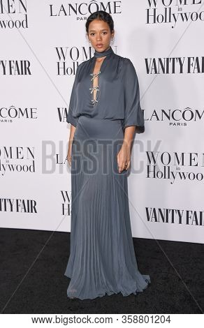 LOS ANGELES - FEB 06:  Taylor Russell {Object} arrives for Vanity Fair Lancome Women in Hollywood Party on February 06, 2020 in West Hollywood, CA