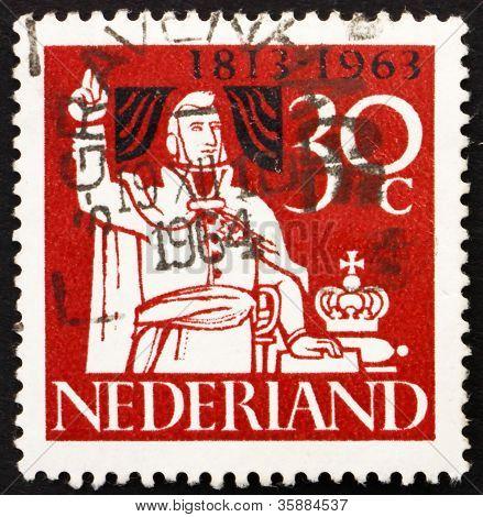 Postage stamp Netherlands 1963 Prince William of Orange