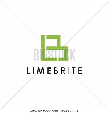 Lb Lime Logo Templates And Vector, L B