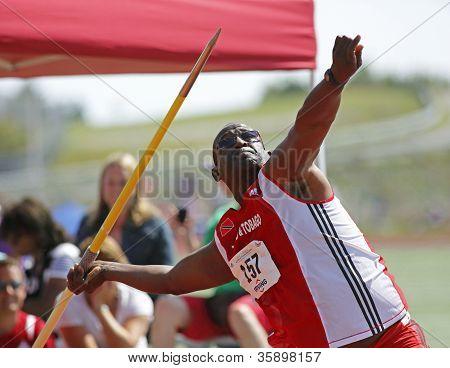Trinidad Tobago Man Javelin Throw