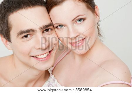 Portrait Of A Happy Couple