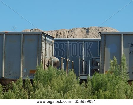 A Crushed Stone Facility To Loads 100-car Trains With Stone For Construction And Railroad Maintenanc