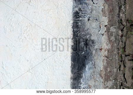 Wall Of The Old House In Banatska Dubica, Banat