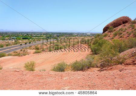 Papago Amphitheater And Scottsdale, Az