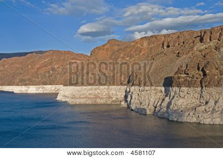 Drought Conditions On Lake Mead
