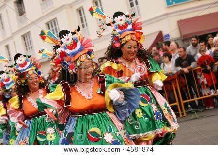 Carnival In Arrecife Lanzarote Canaries Islands Spain 23Rd February 2009