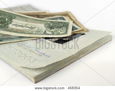 Travel Passport And Money