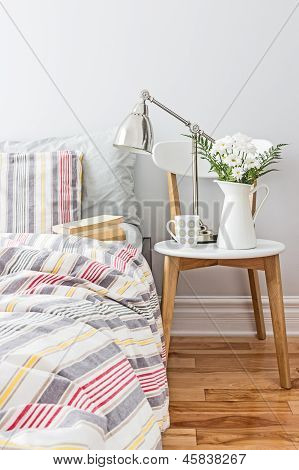 Fresh And Bright Bedroom Decor