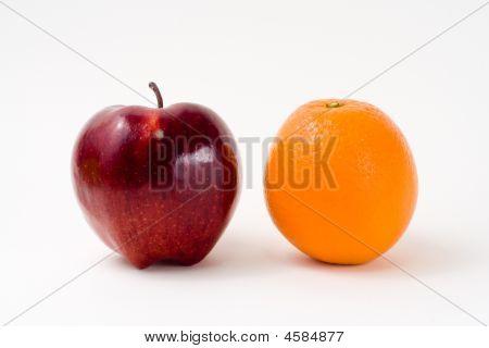 An Apple And Orange