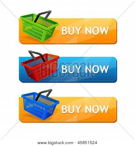 Vector Sale Buttons, isolated on white