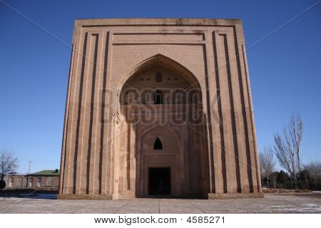 Haruniyeh Dome in Tus, Iran.