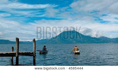 Volcan In Atitlan