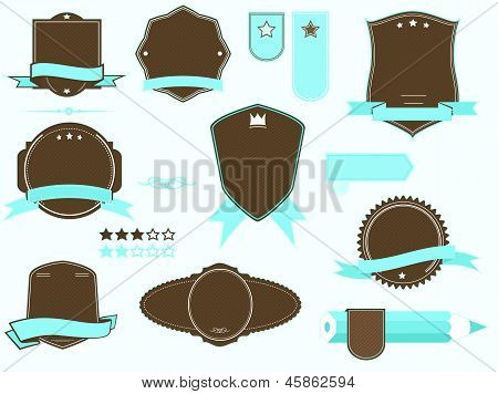 badge frames pack
