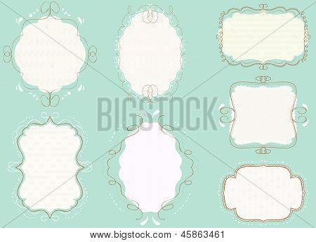 doodle frames pack4