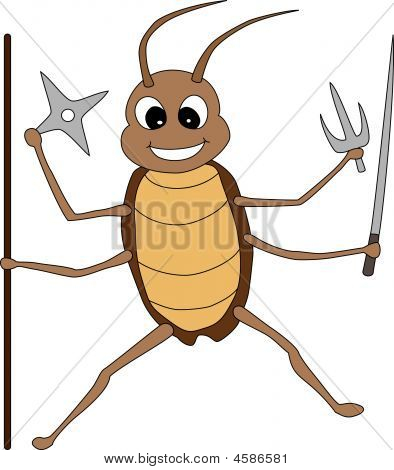genki cockroach