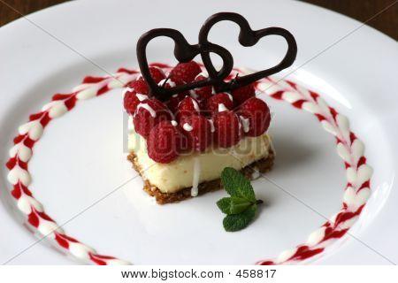 Small Valentines Cheesecake