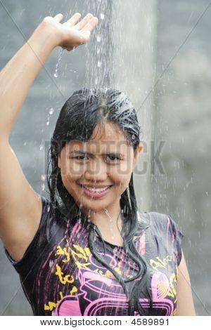 Water Splash Outdoor