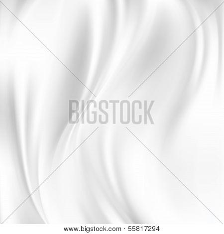 Abstract Vector Texture, White Silk