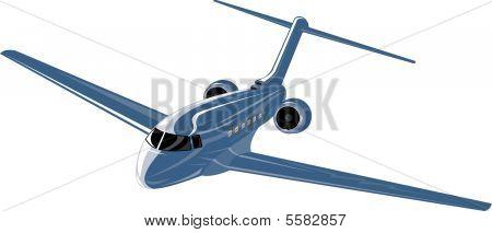 leichte kommerzielle Düsenflugzeug