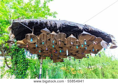 Straw Hat Wind Bells