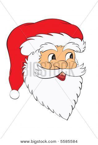 Face Santa Claus