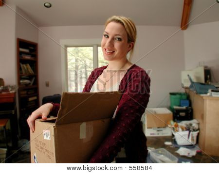 Moving Woman