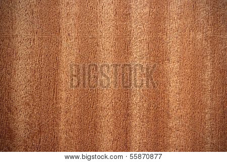 Sapele Wood Surface - Vertical Lines
