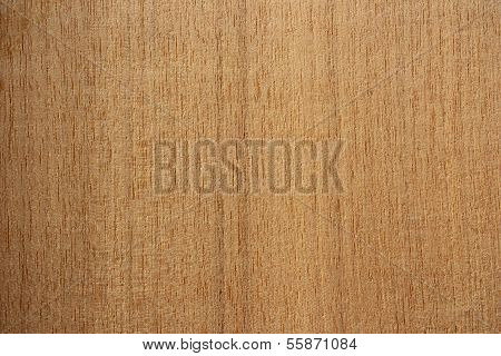 Mansonia Wood Surface - Vertical Lines