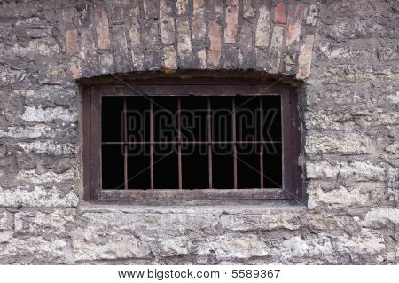 Old Rusty Prison Window