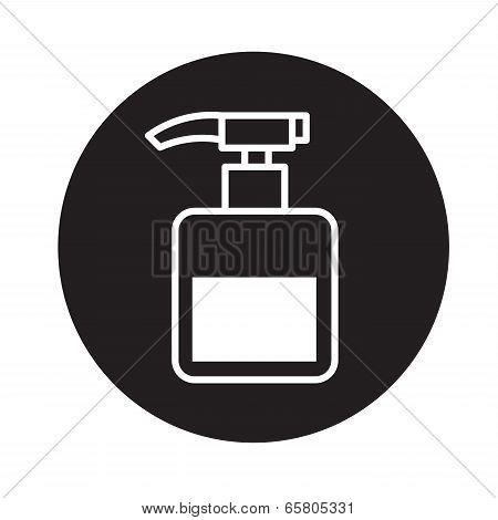 pump bottle   icon vector