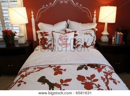Stylish bedroom decor