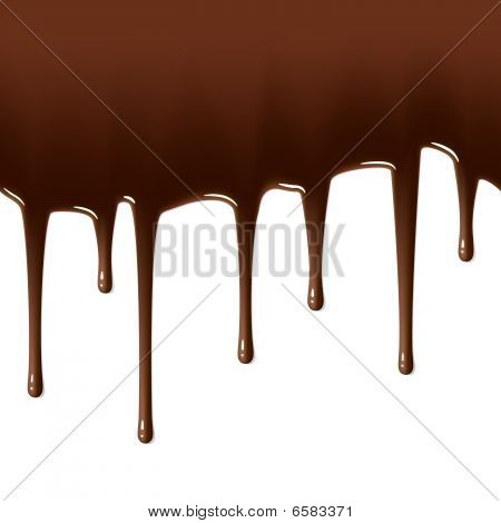 Hot chocolate drips.