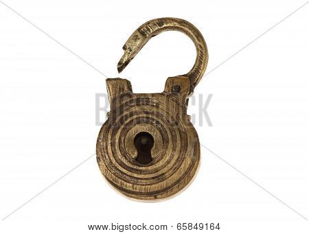 Bronze Ancient Lock