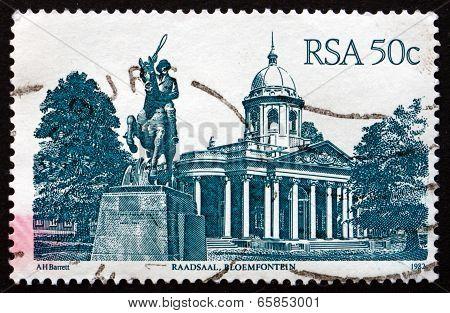 Postage Stamp South Africa 1986 Raadsaal, Bloemfontein