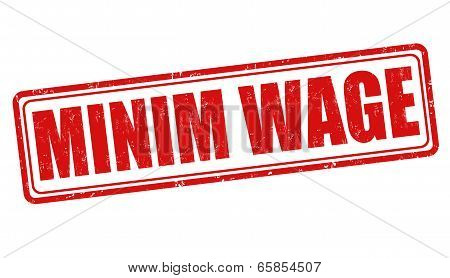 Minim Wage Stamp