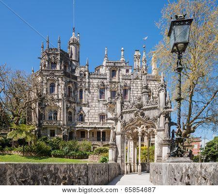Quinta Da Regaleira In Sintra
