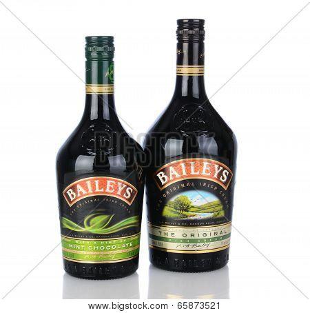 Baileys Irish Cream And Mint Chocolate Liqueur
