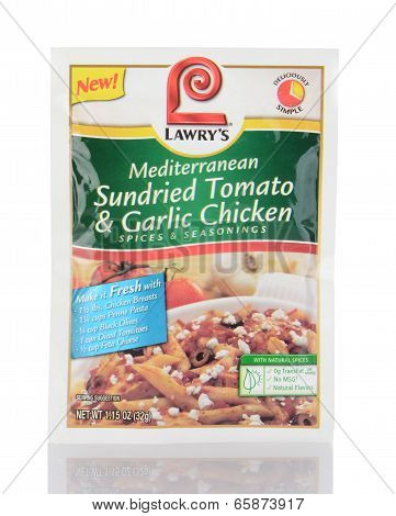 Lawry's Sundried Tomato And Garlic Chicken Seasoning